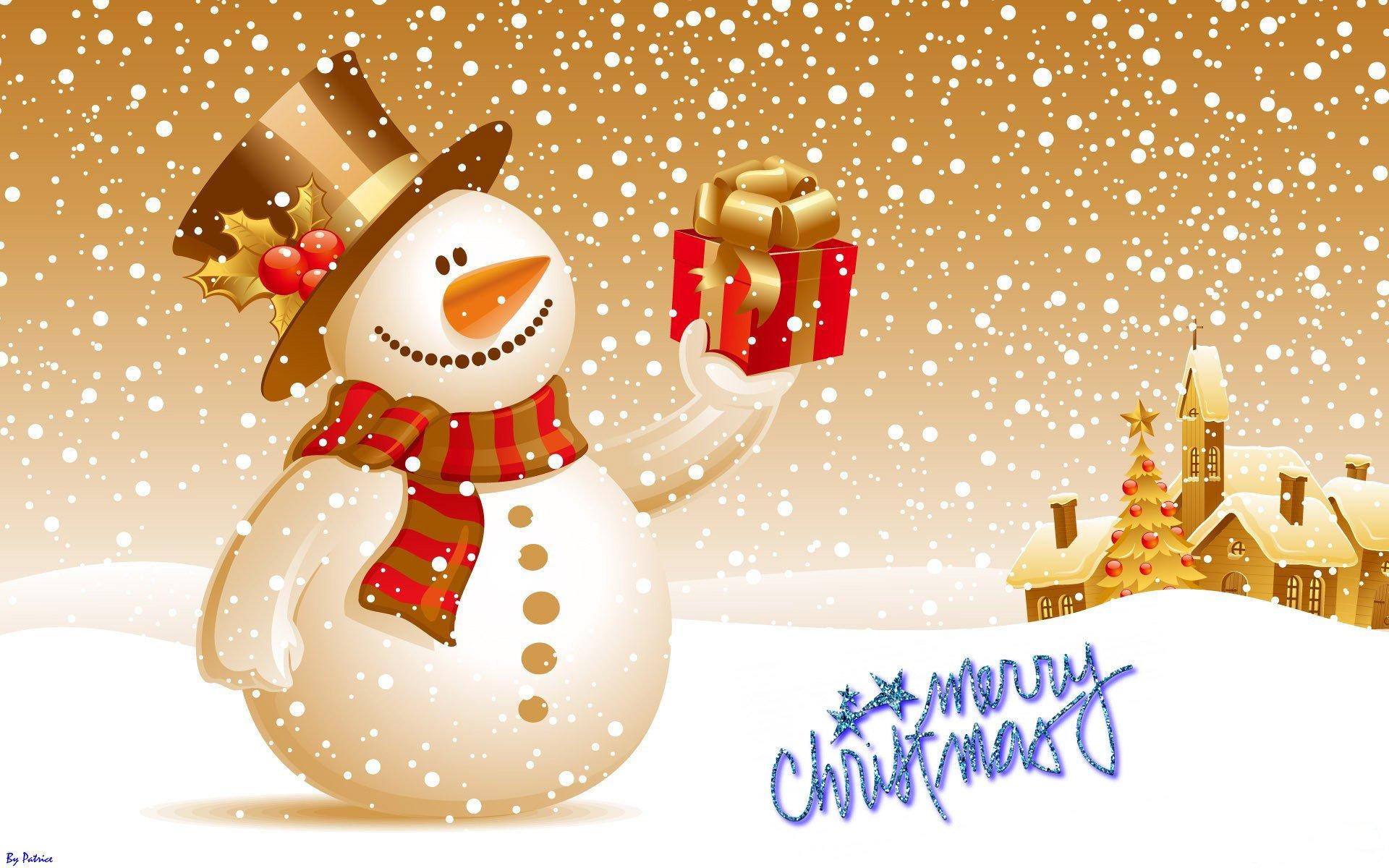 Frohe weihnachten an freunde